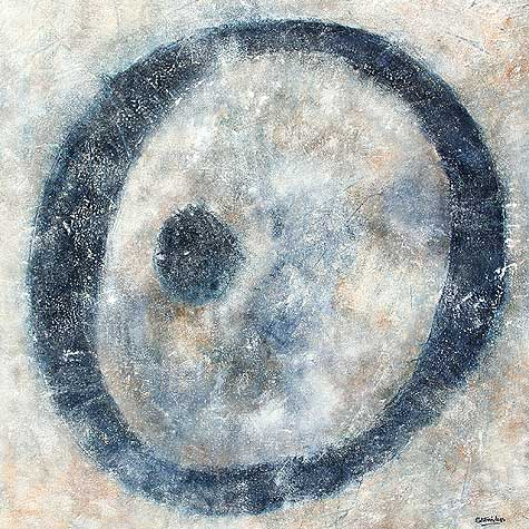 Stone Circle abstract Painting