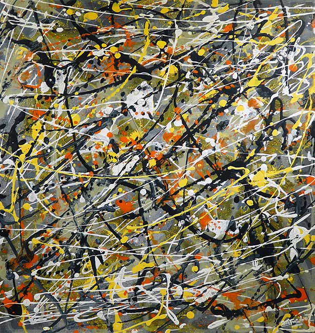 Modern abstract paintings