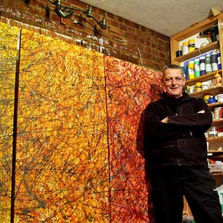 large abstract paintngs