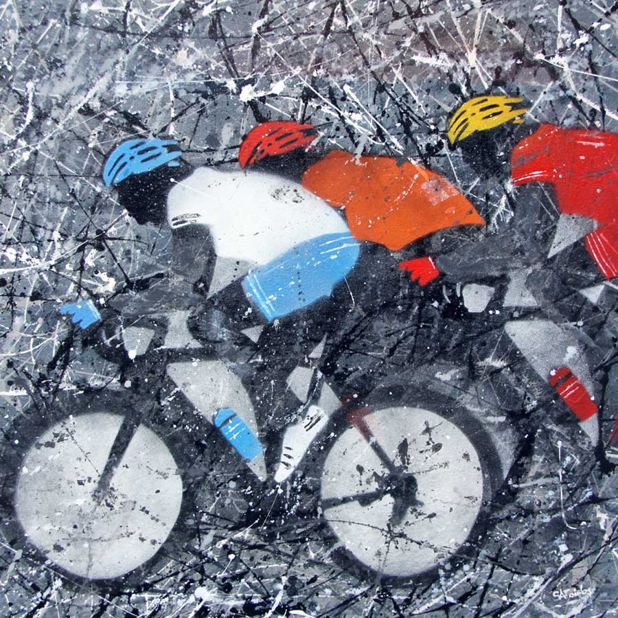 cycling paintngs