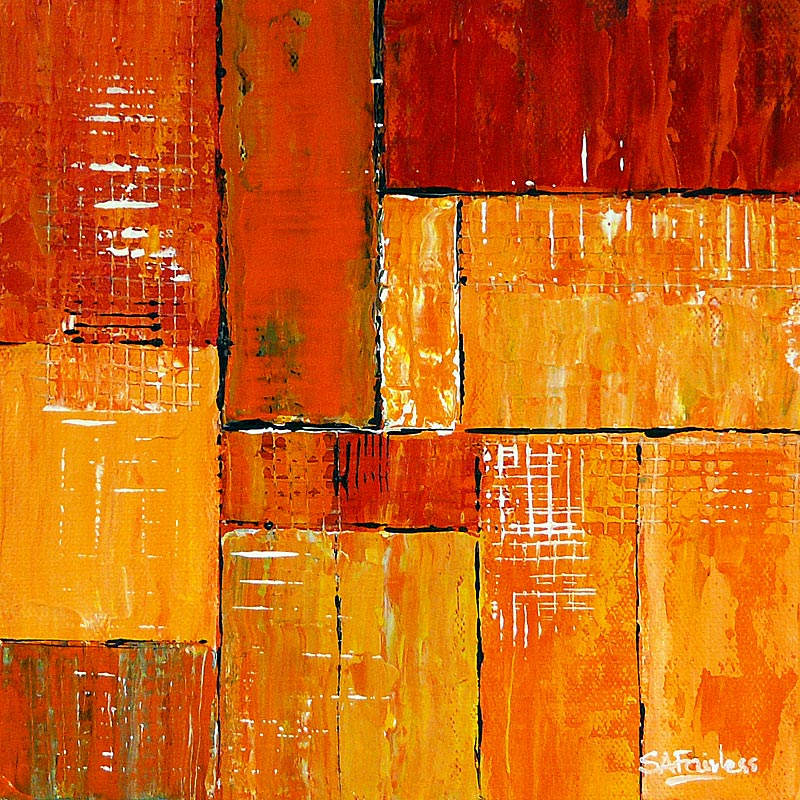 Orang Abstract painting