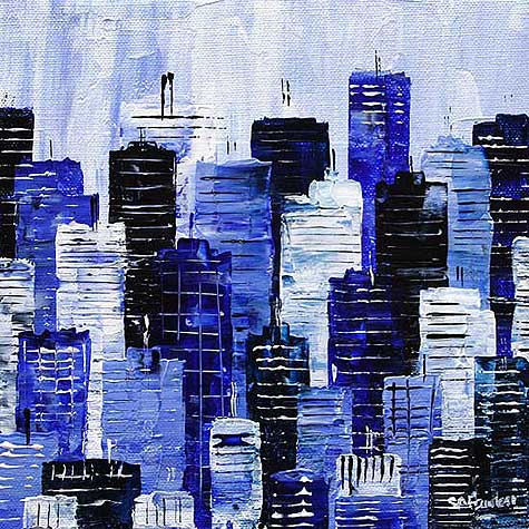 iconic London Cityscape Painting