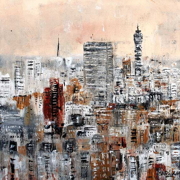 London Landscape painting