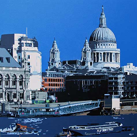 St Pauls Cathedral London Painting