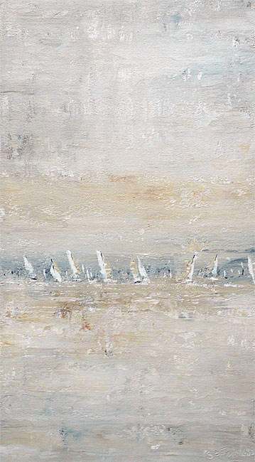 Autumn Sails seascape painting