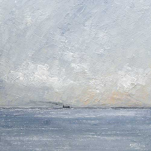 Across the Horizon seascape Painting