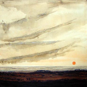 The Sky & the Land landscape painting