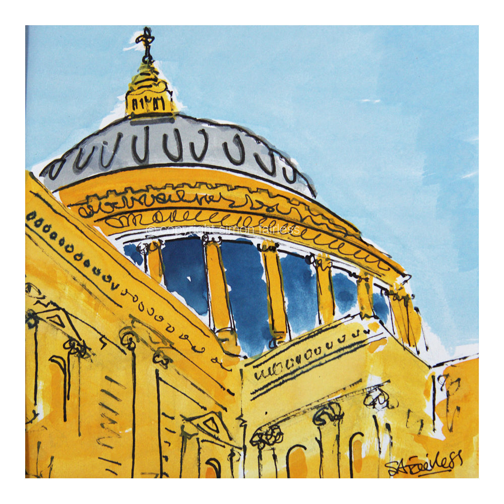 London St Pauls art