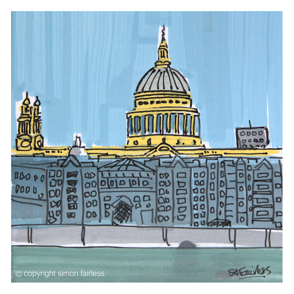St Paul's painting