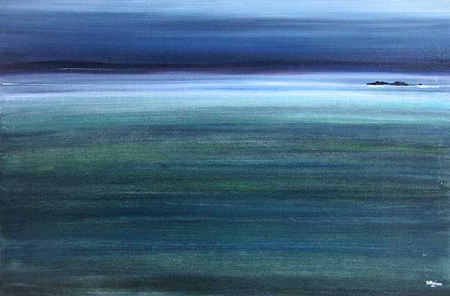 Evening Tide seascape Painting