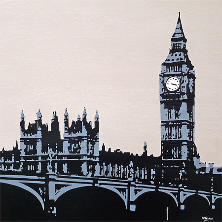 Big Ben London Painting