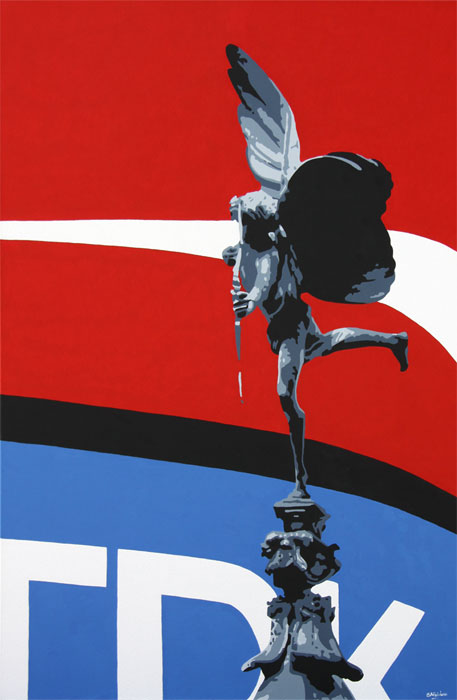 Eros Piccadilly London 2012 London Painting