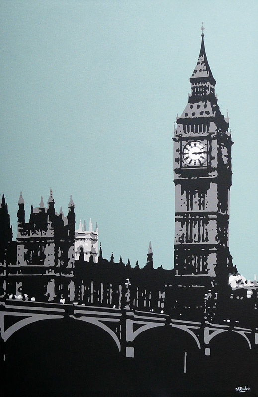 London Cityscape Painting