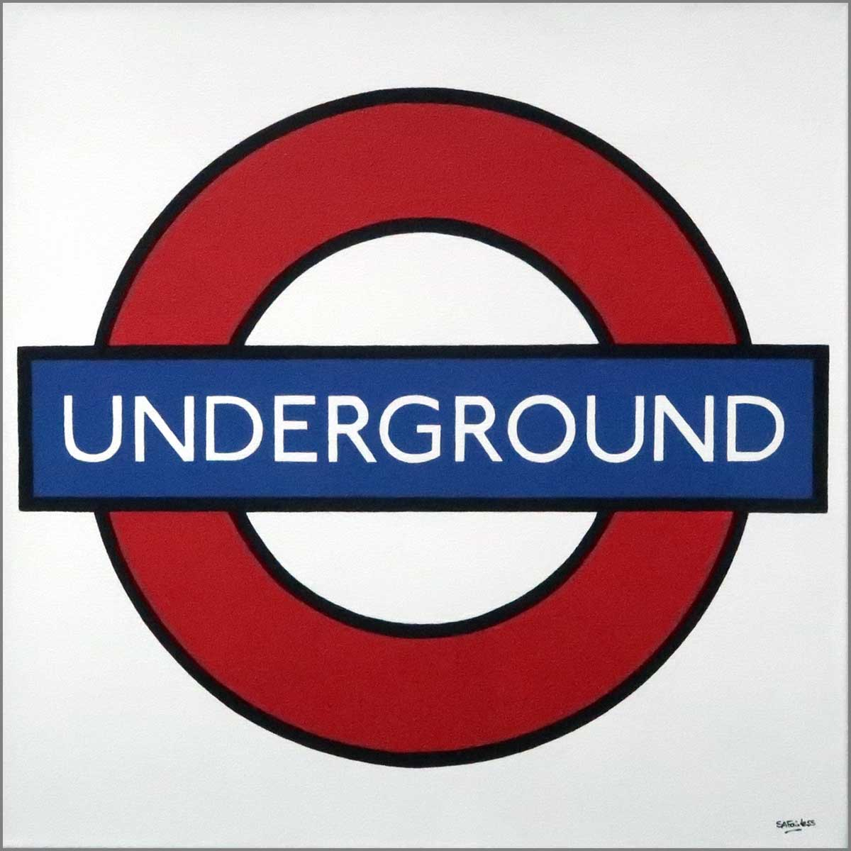 London underground art