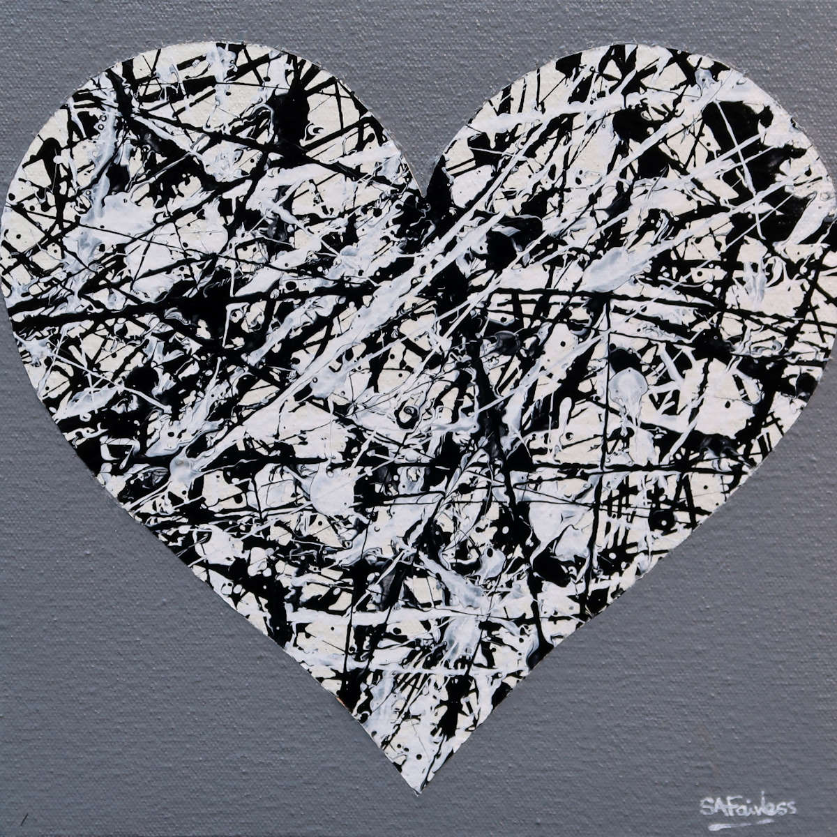 Love Heart Painting