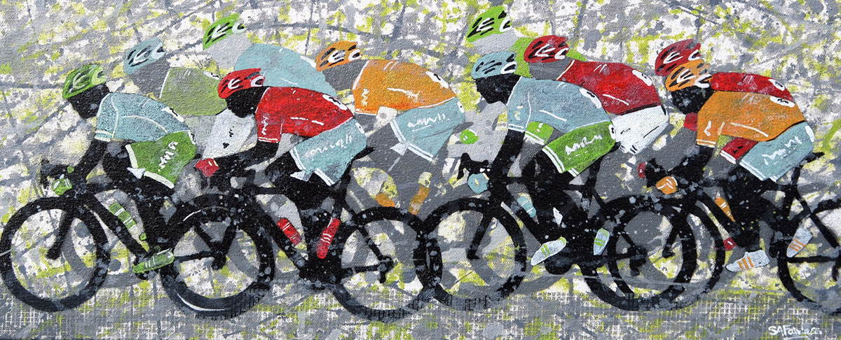 cycling art