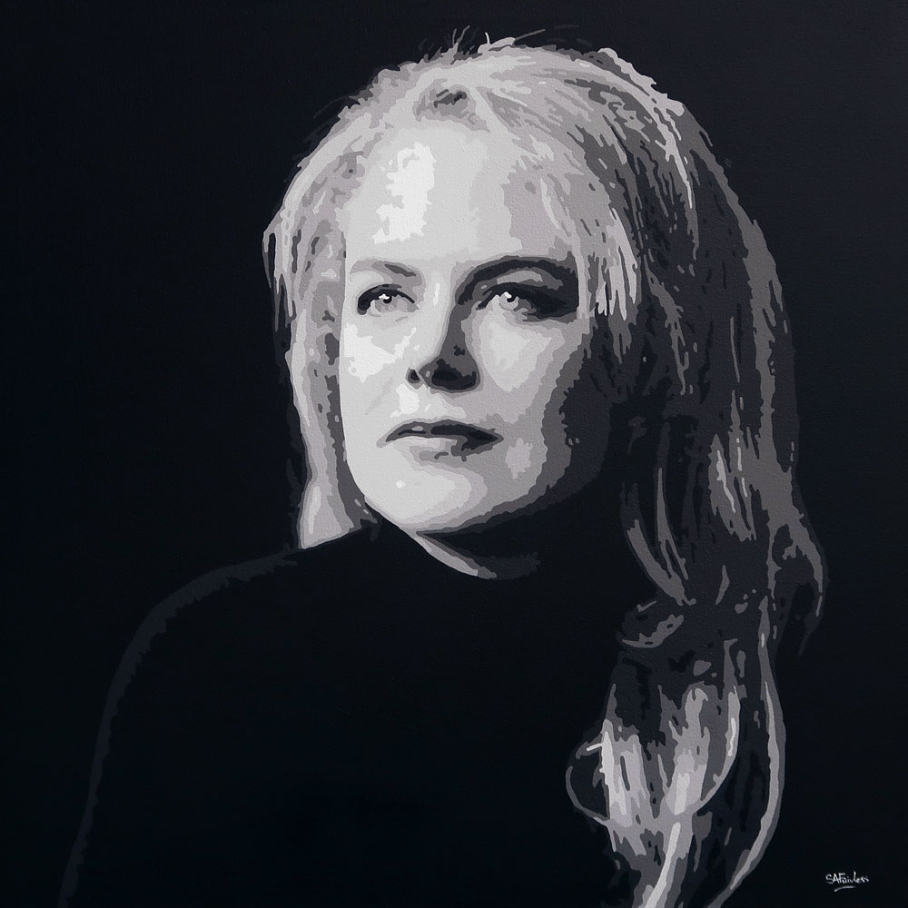 Celebrity Painting Nicole Kidman